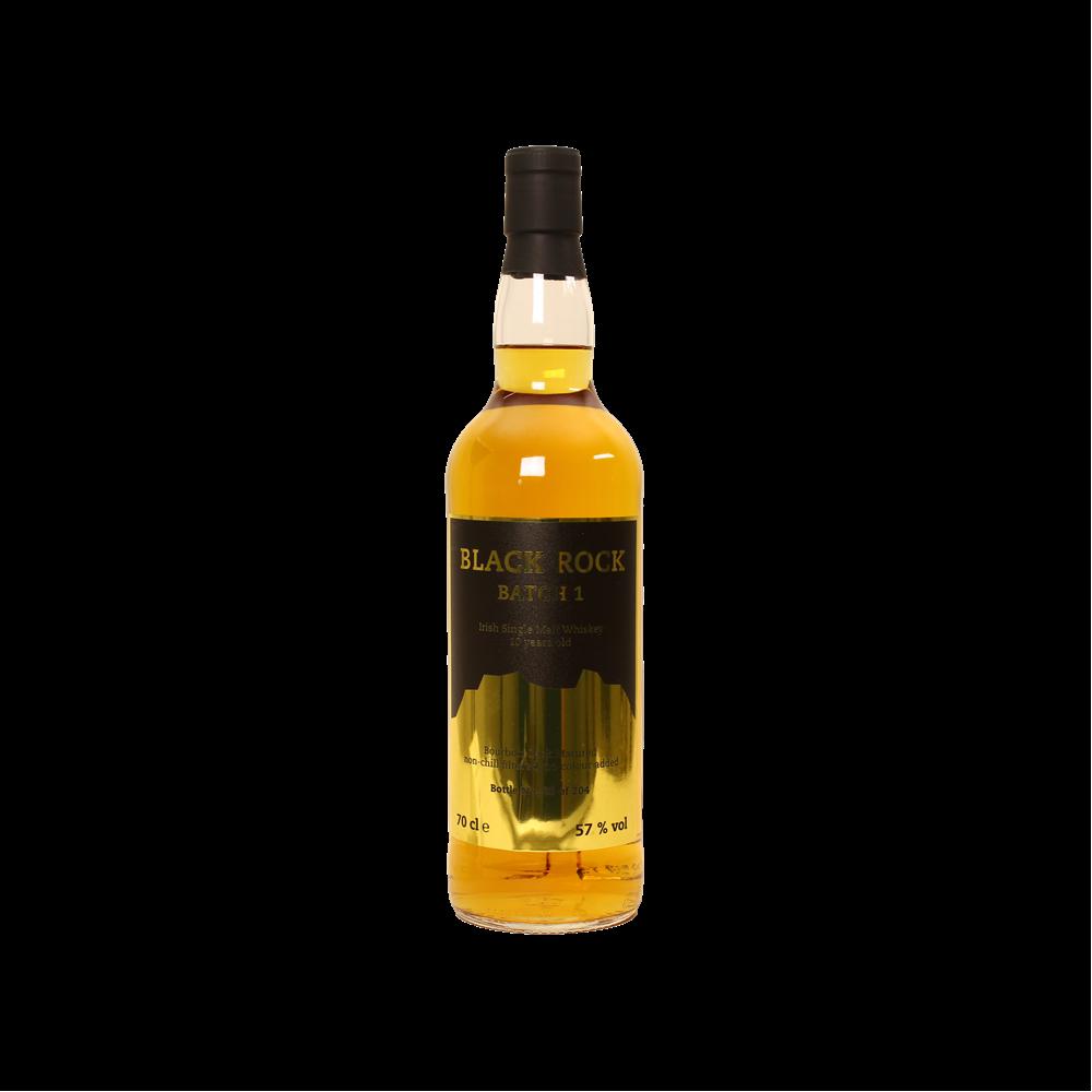 Black Rock 10 Jahre Batch 1 Single Malt Irish Whiskey 57% 0,7l, 72,90