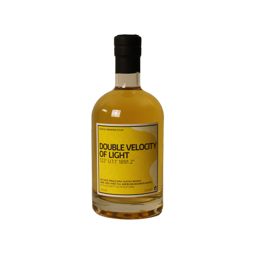 Double Velocity of Light First Fill Bourbon Barrel Scotch Universe 55,9% 0,7l