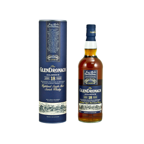 GlenDronach 18 Jahre Allardice Single Malt 46% 0,7l