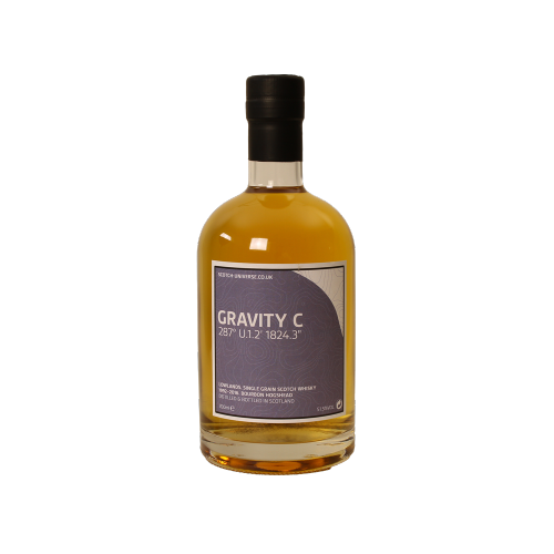 Gravity C Single Grain Scotch Whisky Bourbon Barrel Scotch Universe 51,6% 0,7l
