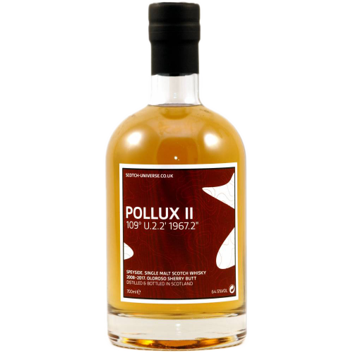 Pollux II Oloroso Sherry Butt Scotch Universe 64,5% 0,7l