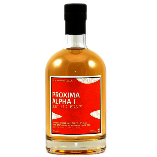Proxima Alpha I 2nd Fill Bourbon Hogshead Scotch Universe 60,1% 0,7l