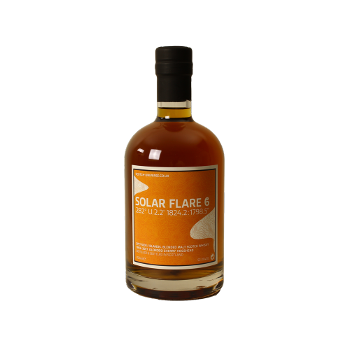 Solar Flare Beta Blended Malt Scotch Whisky 23 Jahre Oloroso Sherry Hogshead Scotch Universe 53,5% 0,7l