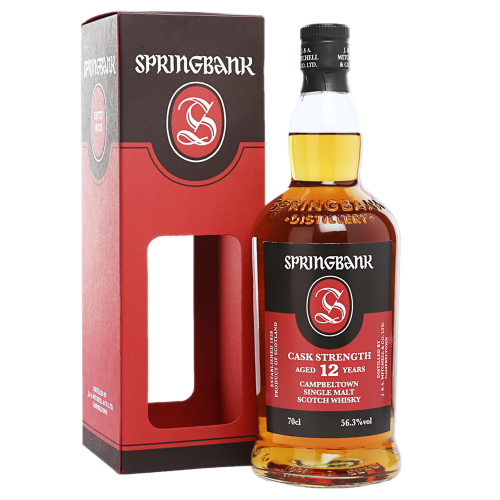 Springbank 12 Jahre Cask Strength Batch #16 56,3% 0,7l