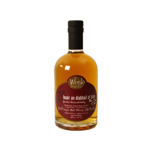 Tempt the devil - No. 1 ex Sherry The Whisky Chamber 58% 0,5l