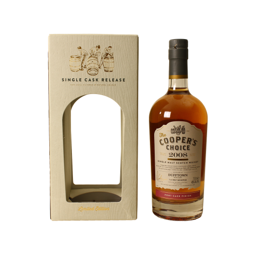 Dufftown 8 Jahre 2008 Port Pipe Finish #864 The Coopers Choice 46,0% 0,7l